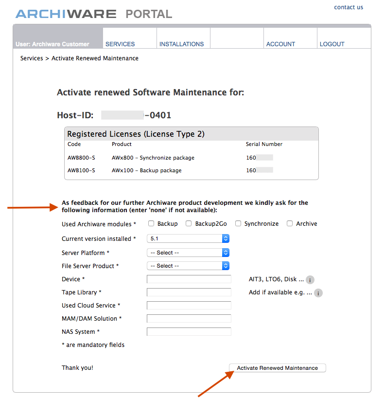 How to - Activate Renewal 5