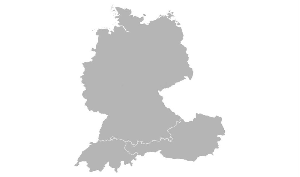 Map DACH