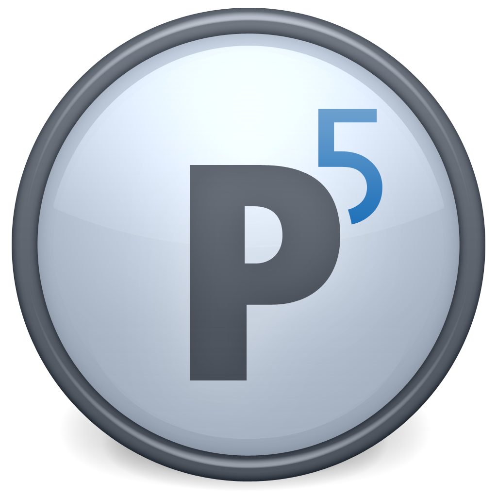 Product icon P5 suite 1024px